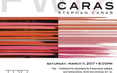 Stephan Caras to Present FW17 Collection at Toronto Women's Fashion Week